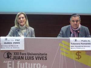 Paz Olmos y Pedro Augusto Talavera